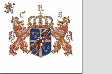 Fahne Standarte Schweden Livfana Skaraborgs Regemente 180 x 200 cm