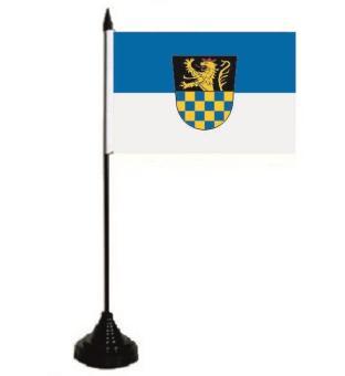 Tischflagge Landkreis Bad Kreuznach 10 x 15 cm