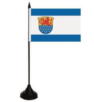 Tischflagge Landkreis Darmstadt - Dieburg 10 x 15 cm