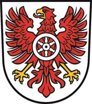 Aufkleber Landkreis Eichsfeld Wappen