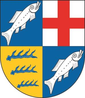 Aufkleber Landkreis Konstanz Wappen