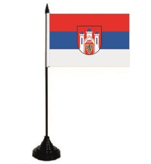 Tischflagge Lüneburg 10 x 15 cm