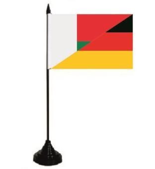 Tischflagge Madagaskar-Deutschland 10 x 15 cm