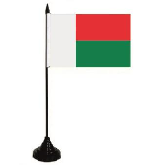 Tischflagge Madagaskar 10 x 15 cm
