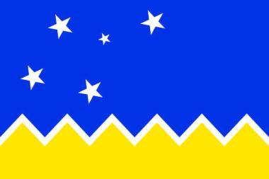 Aufkleber Magellan Region