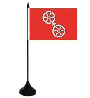 Tischflagge Mainz 10 x 15 cm