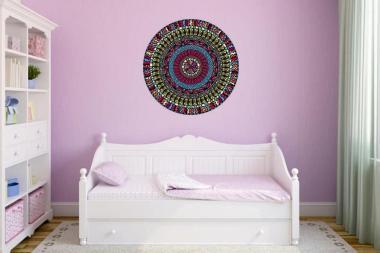 Wandtattoo Mandala Color Motiv Nr. 5