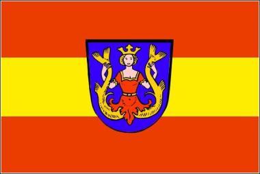 Flagge Markt Isen