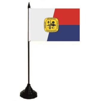 Tischflagge Memphis (Tennessee) 10 x 15 cm