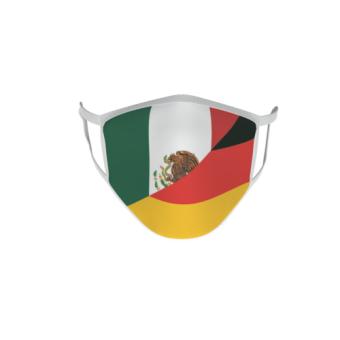 Gesichtsmaske Behelfsmaske Mundschutz Mexiko-Deutschland