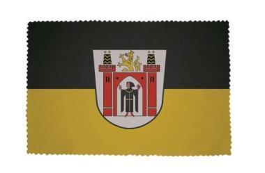 Glasreinigungstuch München mit großen Wappen