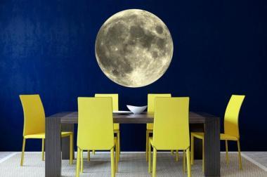 Wandtattoo Mond Fotografie