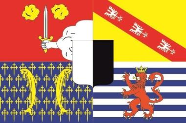 Flagge Moselle Department