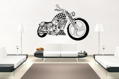 Wandtattoo Motorrad Motiv Nr. 3