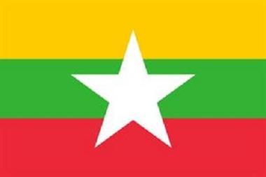 Flagge Myanmar