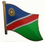 Pin Namibia 20 x 17 mm