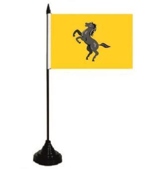 Tischflagge Neapel Provinz 10 x 15 cm