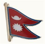 Pin Nepal 20 x 17 mm