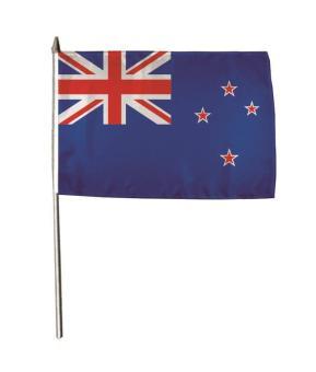 Stockflagge Neuseeland 30 x 45 cm