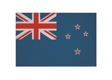 Aufnäher Patch Neuseeland 9 x 6 cm