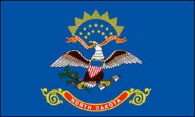 Flagge North Dakota