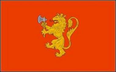 Flagge Norwegen Royal