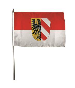 Stockflagge Nürnberg 30 x 45 cm