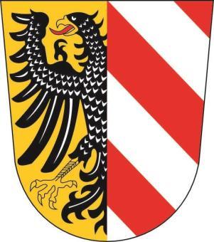 Aufkleber Nürnberg Wappen