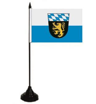 Tischflagge Oberbayern 10 x 15 cm
