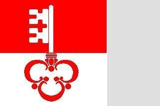 Fahne Obwalden 30 x 30 cm