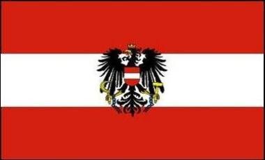 Aufkleber Österreich mit Adler