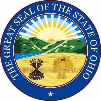 Aufkleber Ohio Siegel Seal