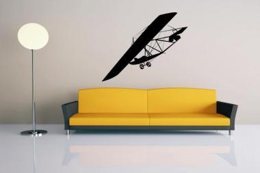 Wandtattoo Old Plane Motiv Nr. 1