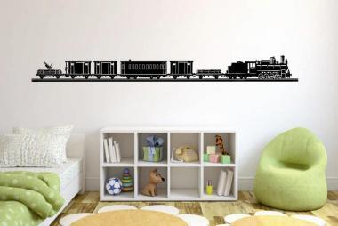 Wandtattoo Old Train Motiv Nr. 2