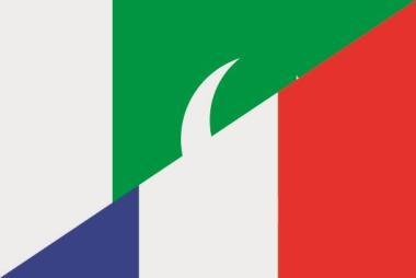 Aufkleber Pakistan-Frankreich