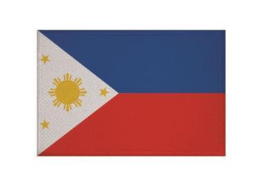 Aufnäher Patch Philippinen 9 x 6 cm