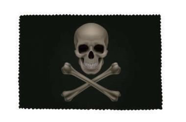 Glasreinigungstuch Pirat Cross Bone
