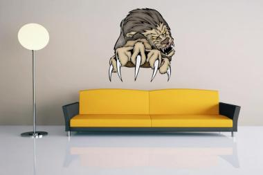 Wandtattoo Predator Lion Motiv Nr. 1