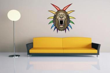 Wandtattoo Predator Lion Motiv Nr. 4