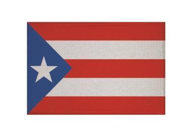 Aufnäher Patch Puerto Rico 9 x 6 cm
