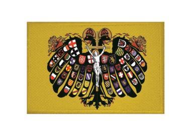 Aufnäher Patch Quaternionen Adler 9 x 6 cm