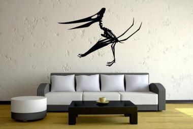 Wandtattoo Quetzalcoatlus Skelett