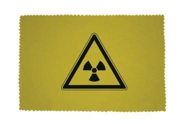 Glasreinigungstuch Radioaktiv