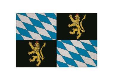 Aufnäher Patch Rheinische Pfalzgrafschaft 9 x 6 cm