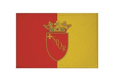 Aufnäher Patch Rom mit Wappen 9 x 6 cm