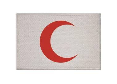 Aufnäher Patch Roter Halbmond 9 x 6 cm