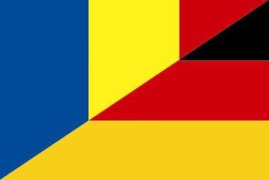 Flagge Rumänien - Deutschland