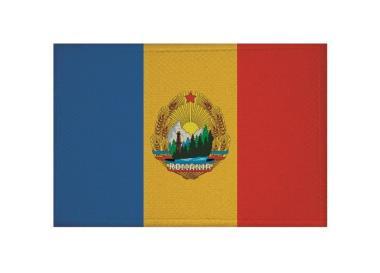 Aufnäher Patch Rumänien Volksrepublik 9 x 6 cm
