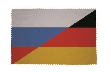 Glasreinigungstuch  Russland-Deutschland
