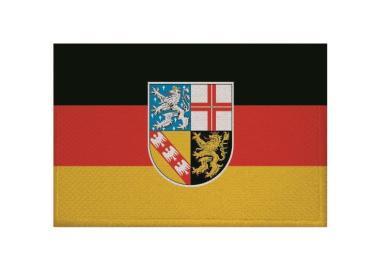 Aufnäher Patch Saarland 9 x 6 cm